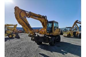 Excavator pe pneuri Atlas 1604KZW