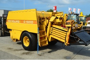 Presa de baloti mari New Holland D1000