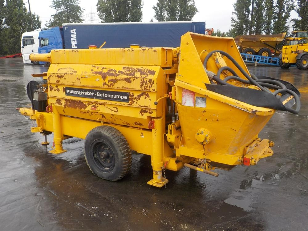 Pompa de beton Putzmeister BA 1405 E