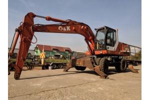 Excavator pe pneuri O&K MH5