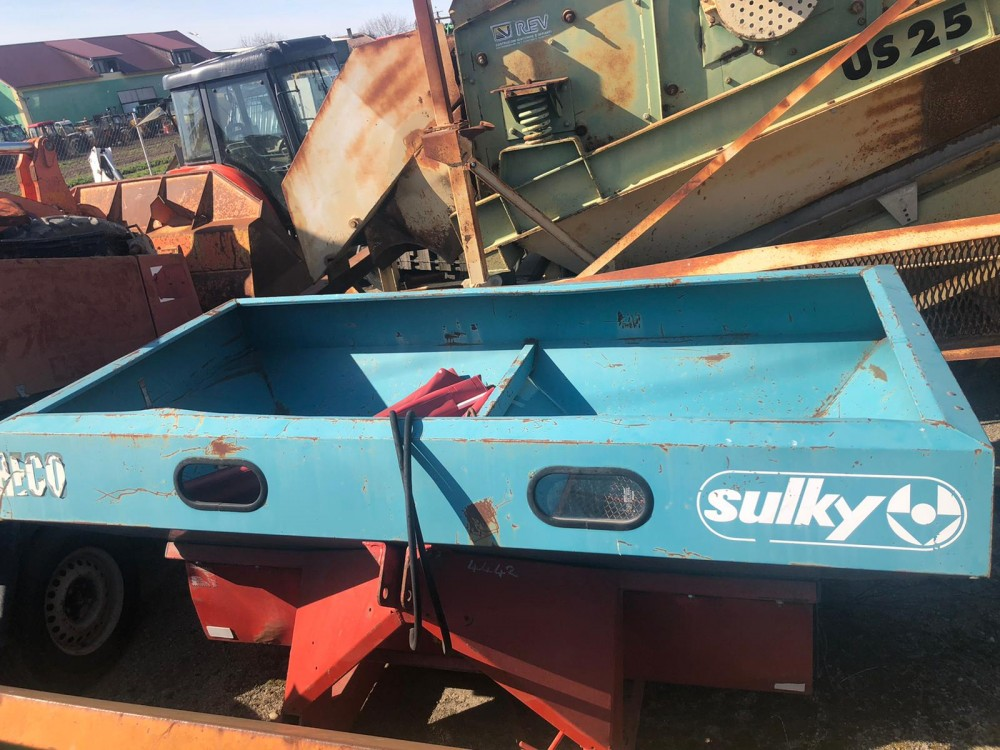 Masina de imprastiat azot Sulky DPX 1504